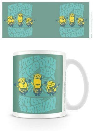 Despicable Me Groovy Day Minion Mug
