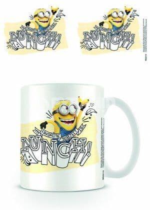 Despicable Me Lunch Minion Mug