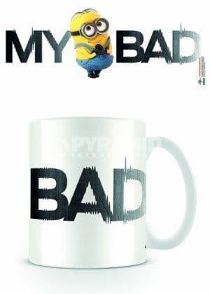 """Despicable Me """"My Bad"""" Minion Mug"""