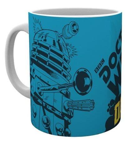 Doctor Who Dalek Ceramic Mug