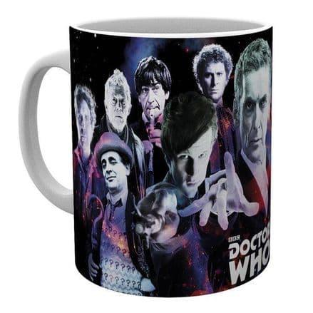 Doctor Who (Doctors) Ceramic Mug
