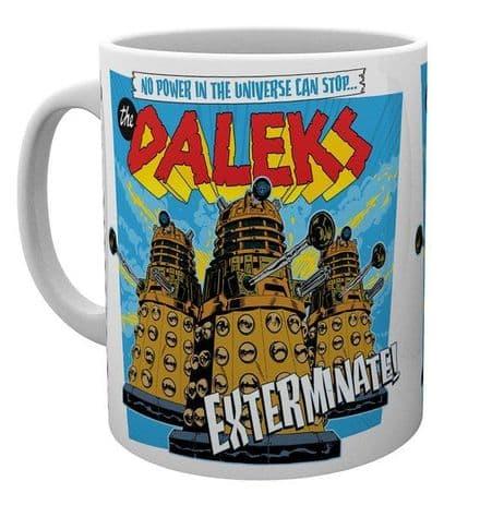 Doctor Who The Daleks Ceramic Mug