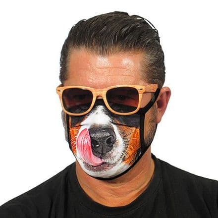 Dog Face Trendy Face Mask