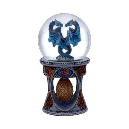 Dragon Heart Snow Globe Anne Stokes 18.5cm