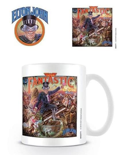 Elton John Captain Fantastic Ceramic Mug