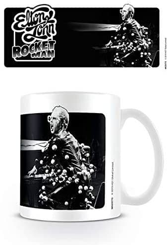 Elton John Rocket Man Ceramic Mug