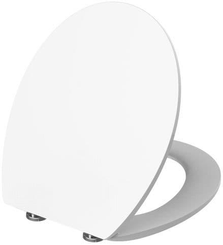 Euroshowers SlimLux White Soft Close Toilet Seat