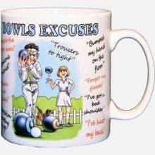 Excuses Mugs