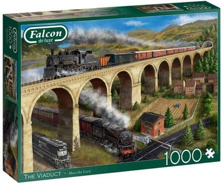 Falcon Deluxe The Viaduct 1000 Piece Jigsaw Puzzle