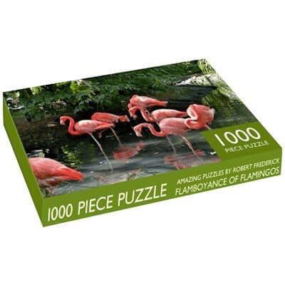 Flock Of Flamingos 1000 Piece Jigsaw 1000 Piece Jigsaw Puzzle