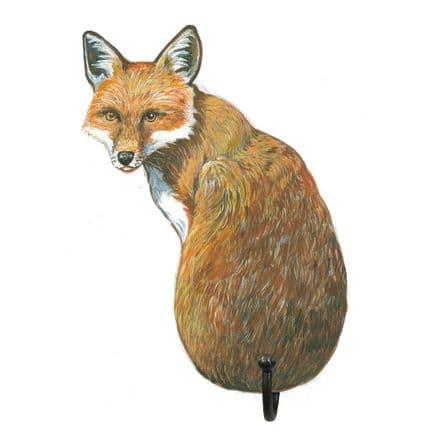 Fox Shaped Single Hook