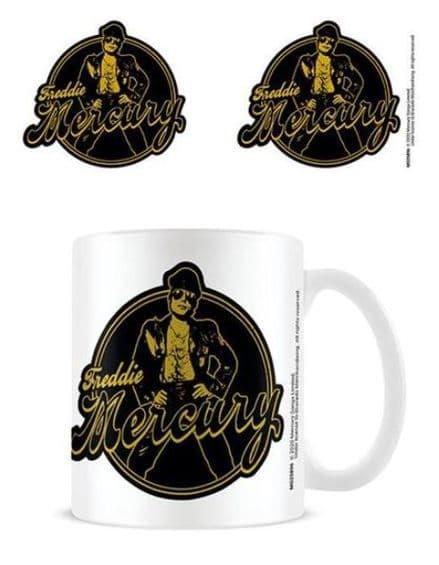 Freddie Mercury Biker Standard Mug