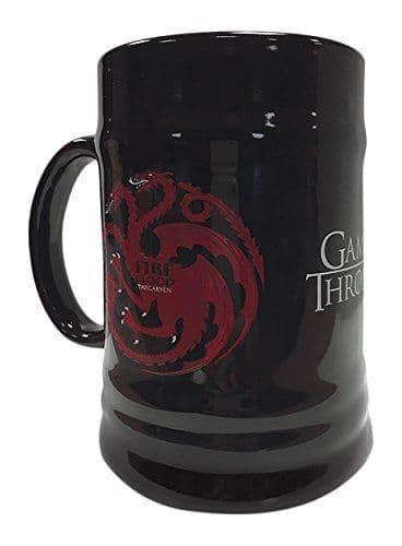 Game Of Thrones House Targaryen Ceramic Stein