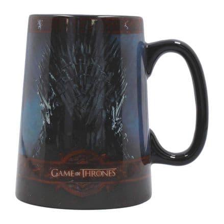 Game Of Thrones Iron Throne Ceramic Tankard