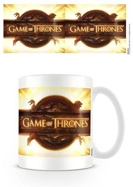 Game Of Thrones Opening Logo Ceramic Mug