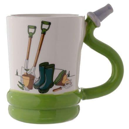 Garden Hose Ceramic Shaped Handle Mug