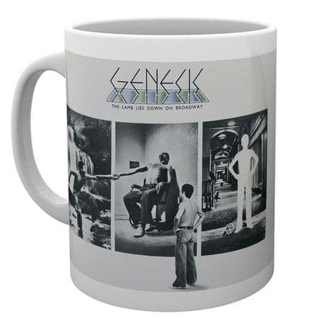Genesis The Lamb Lies Down Ceramic Mug
