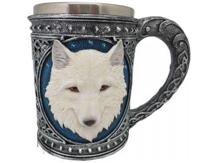 Ghost Wolf Tankard 17cm