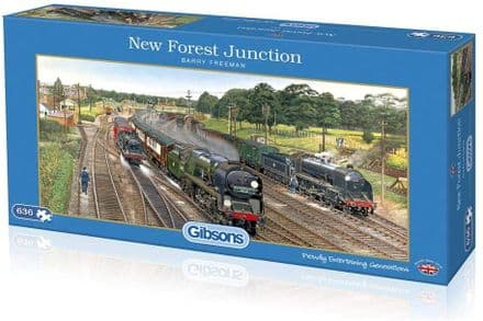 Gibsons New Forest Junction 636 Piece Jigsaw Puzzle