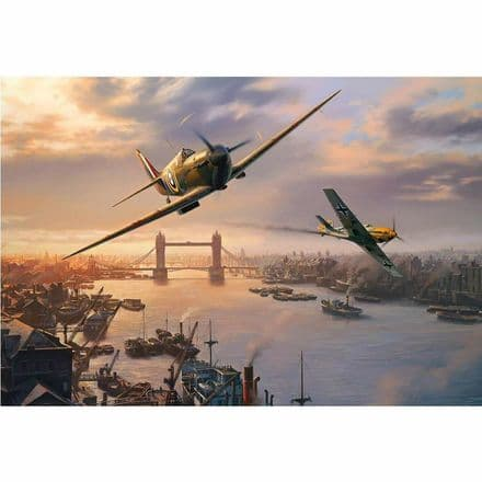 Gibsons Spitfire Skirmish 500 Piece Jigsaw Puzzle