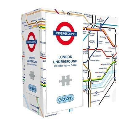 Gibsons  TFL London Underground Map 1000 Piece Jigsaw Puzzle