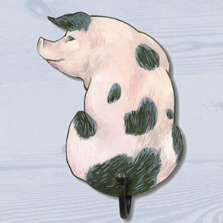 Gloucester Old Spot Pig Shaped Single Hook