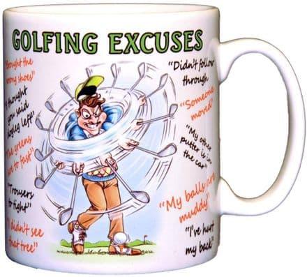 Golf Excuses Ceramic Mug