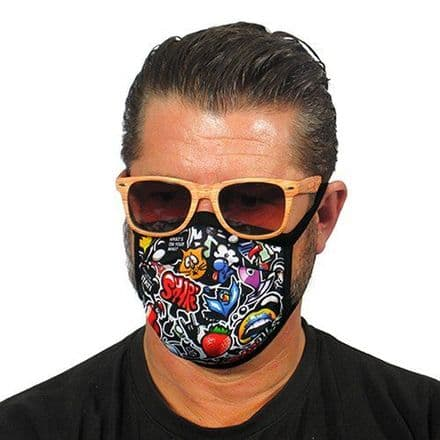 Graffiti Trendy Face Mask