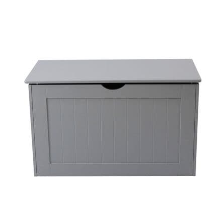 Grey Shaker Blanket / Laundry Box