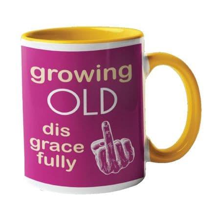 Growing Old Disgracefully Ceramic Mug