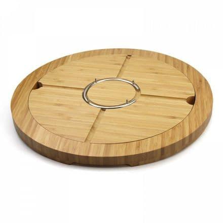 Grunwerg Circular Deluxe Bamboo Multi Board Set