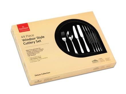 Grunwerg Windsor Style 44 Piece Cutlery Set