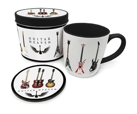 Guitar Heaven (Legendary Guitars)  Mug & Coaster In Tin