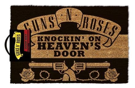 Guns N' Roses Knocking On Heavens Door Doormat