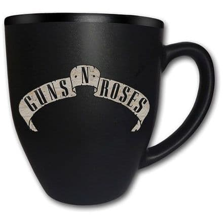 Guns N Roses Logo Matt Engraved Mug