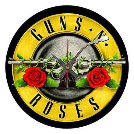 Guns 'n' Roses Vinyl Wall Clock