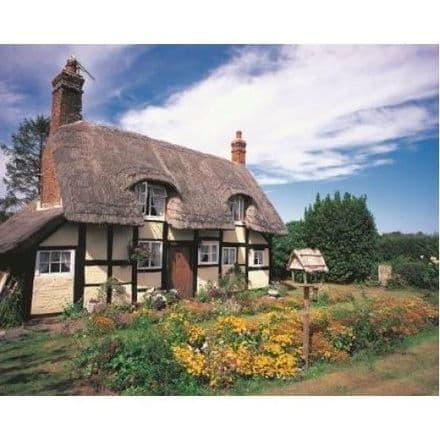 Hanley Castle Cottage Worcester 1000 Piece Jigsaw Puzzle