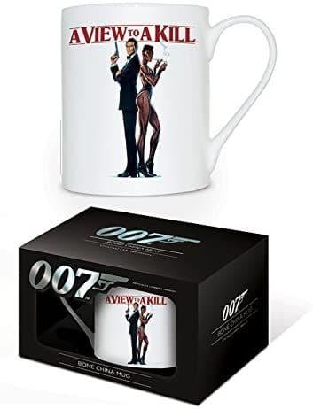 James Bond A View To A Kill  China Mug