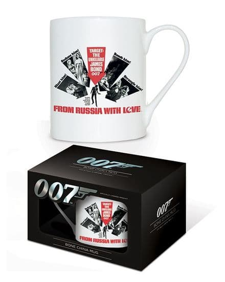 James Bond From Russia With Love Bone China Mug