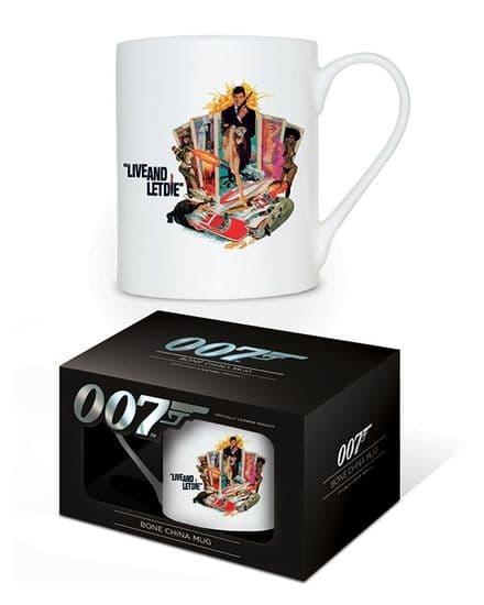 James Bond Live and Let Die Bone China Mug