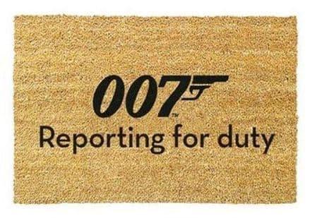James Bond (Reporting For Duty) Doormat