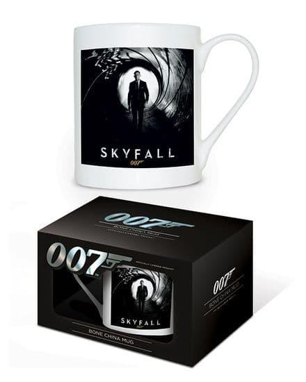 James Bond Skyfall Bone China Mug