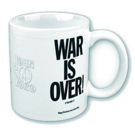 John Lennon War Is Over Mug