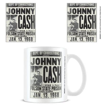 Johnny Cash Folsom State Prison Mug