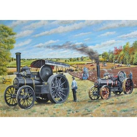 Keep Ploughing On 1000 Piece Jigsaw Puzzle