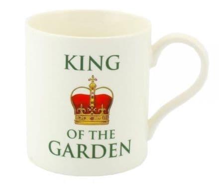King of the Garden Fine China Mug