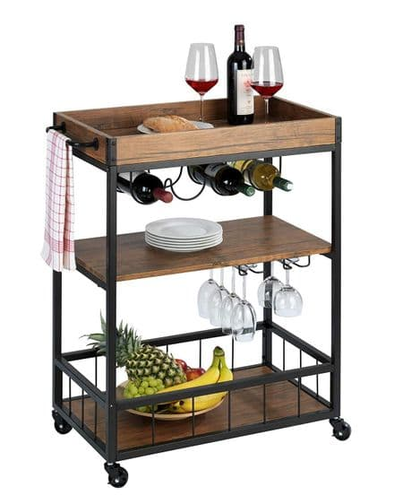Kitchen Trolley Rustico