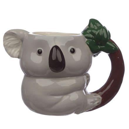 Koala Shaped Ceramic Mug