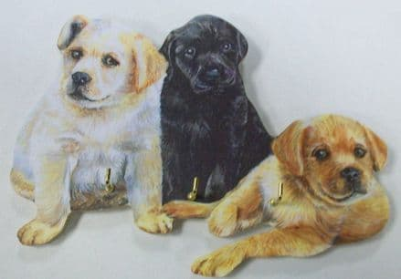 Labrador Puppies Key Rack