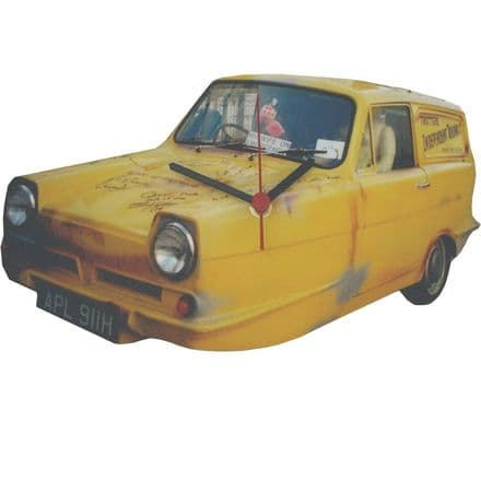 Lark Rise Designs Only Fools and Horses Reliant Robin Wooden Wall Clock
